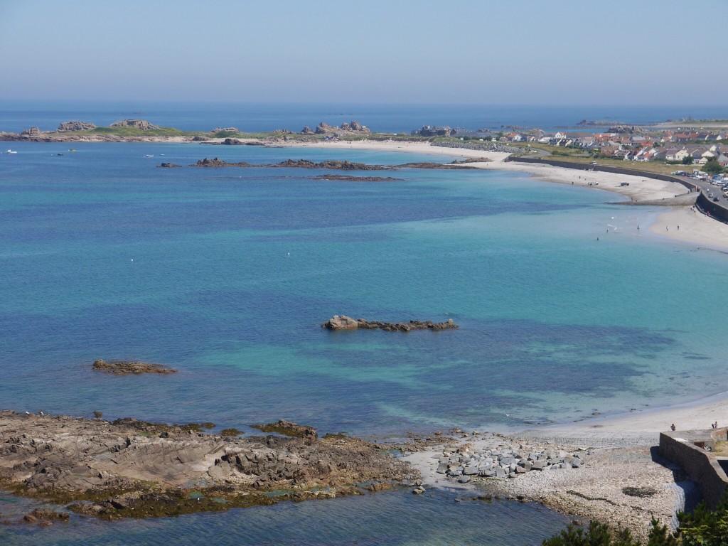 Guernsey, westkust
