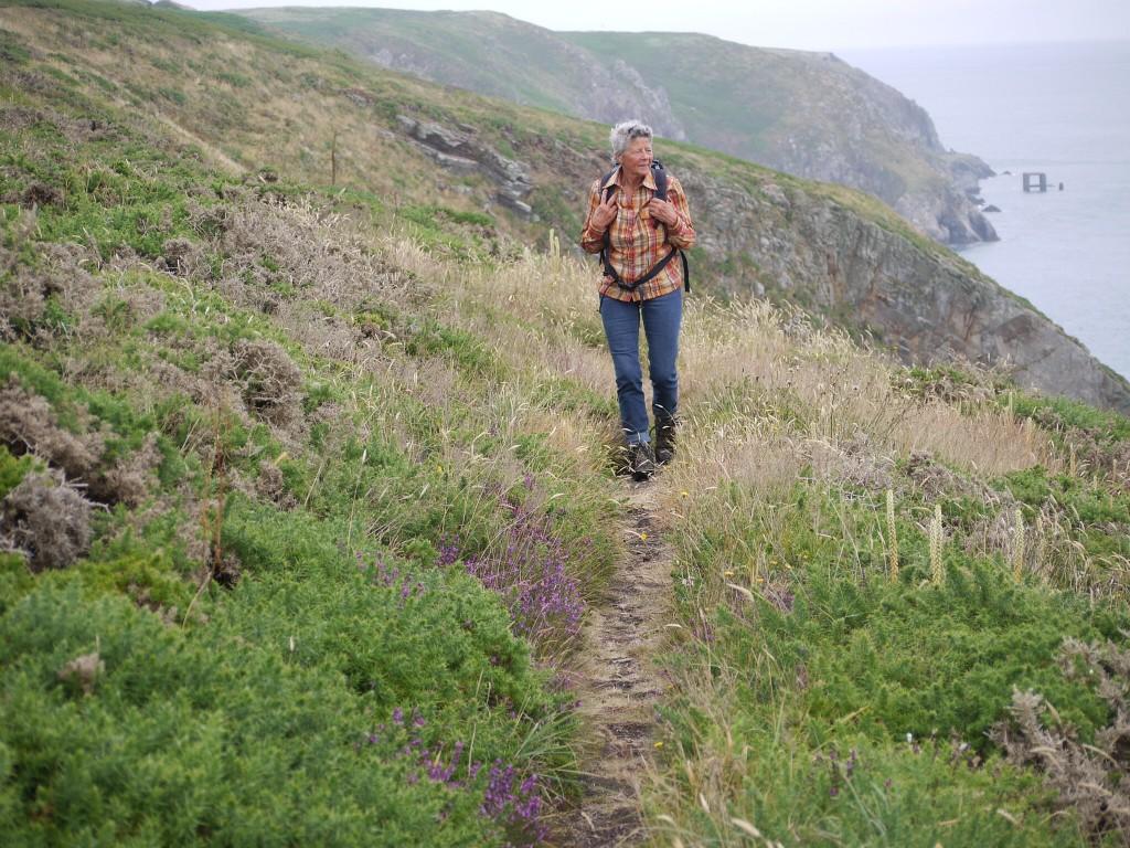Wandelen op Alderney