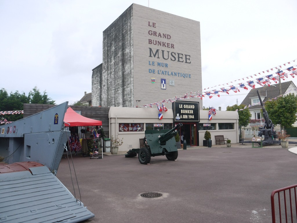 Grand bunker D-Day museum in Ouistreham