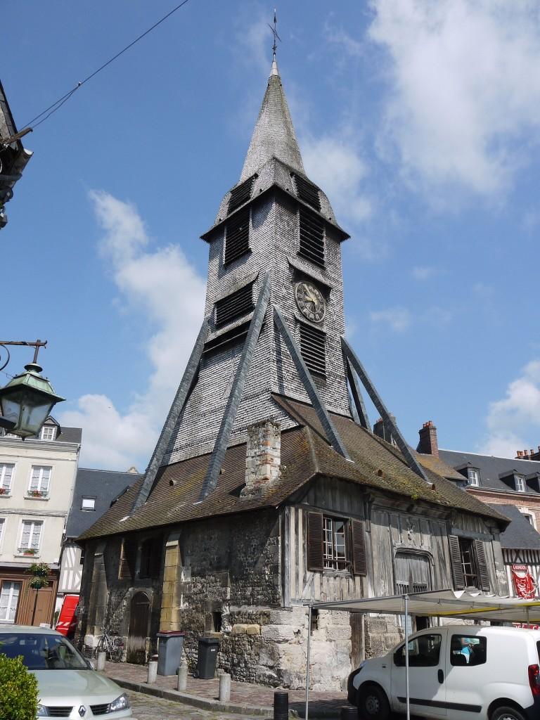 Klokkentoren bij St Catherine, Honfleur