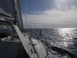 Zonsopgang op de Noordzee