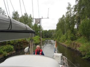 Nauwe kanaal trajecten